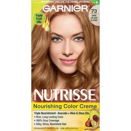 garnier nutrisse nourishing hair color creme  dark