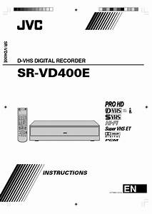 Sr-vd400e Manuals