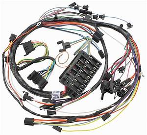 Wiring Harness  Dash  1967 Chevelle  El Camino  Gauges
