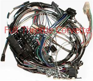 1964 64 Corvette Dash Wiring Harness  Without Back