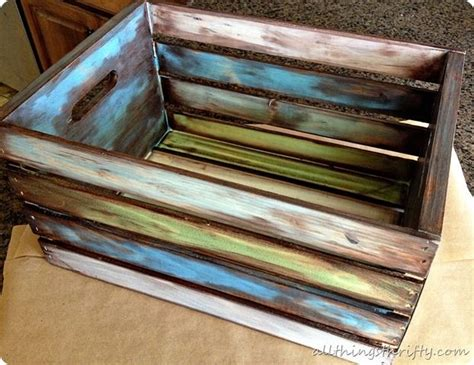 How To Antique Wood {with Paint And Stain}  Antique Wood