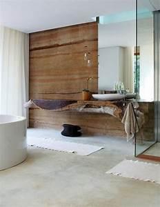 Sol Bois Salle De Bain : luminaire bois salle de bain ~ Premium-room.com Idées de Décoration