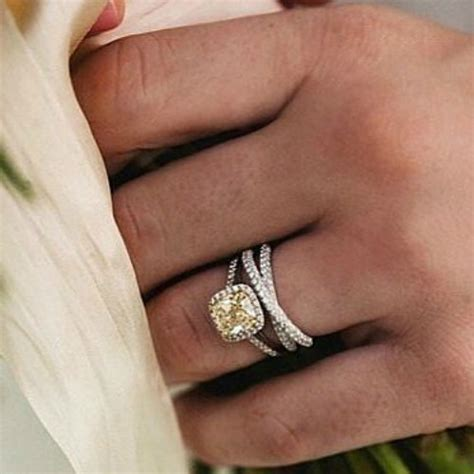 how to pair engagement rings with wedding rings cape diamondscape diamonds