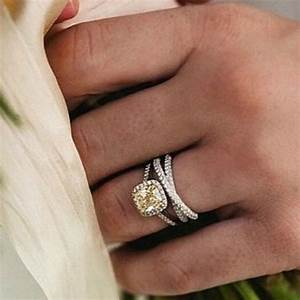 how to pair engagement rings with wedding rings cape With engagement ring to wedding ring