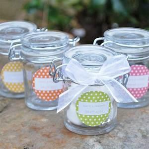 Petit Pot De Confiture : mini bocal en verre pour drag es personnalisable pour ~ Farleysfitness.com Idées de Décoration