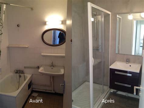 salle de bain avant et apr 232 s r 233 novation bh conception cr 233 ation am 233 nagement ou r 233 novation de