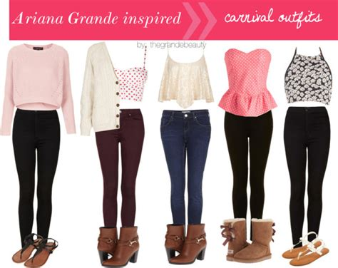 - Ariana Grande inspired Carnival Outfits....