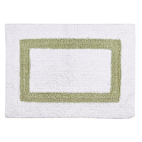 hotel collection bath rugs concierge collection hotel collection reversible 2