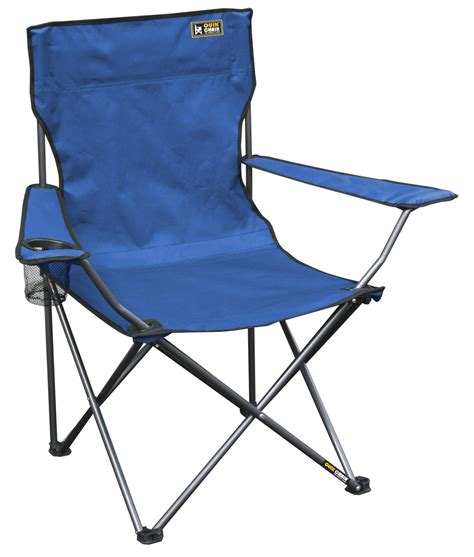 Quik Shade Chair Canada by Quik Chair Folding Chair With Carrying Bag Blue