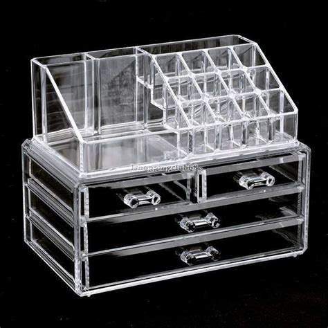 makeup organizer drawers acrylic cosmetic organizer 4 drawers drawer makeup