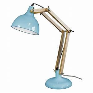 Lampe De Bureau Design Bleue Architecte Sur CDC Design