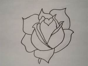 Heart Rose Drawing - CodyR © 2018 - Oct 10, 2011