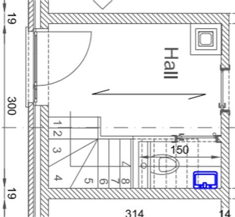 aide pour escalier 1 4 tournant avec wc