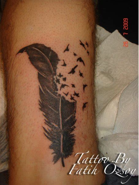 feather tattoo images designs