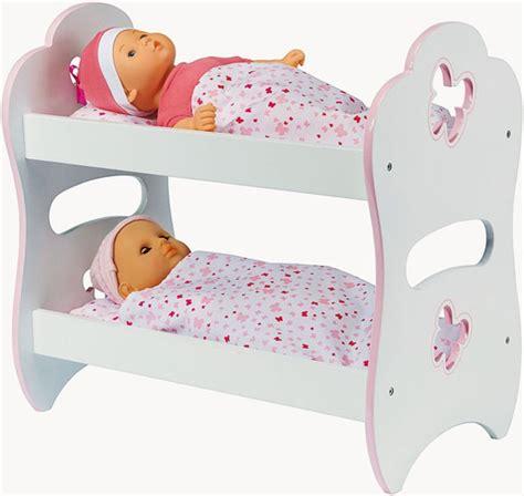 achat lits superposs pour poupon lit de poupe 2 tages lit de poupe en bois