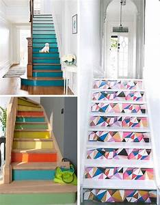 Contre Marche Deco : d co salon escalier contre marches couleur r novation escalier leading ~ Dallasstarsshop.com Idées de Décoration