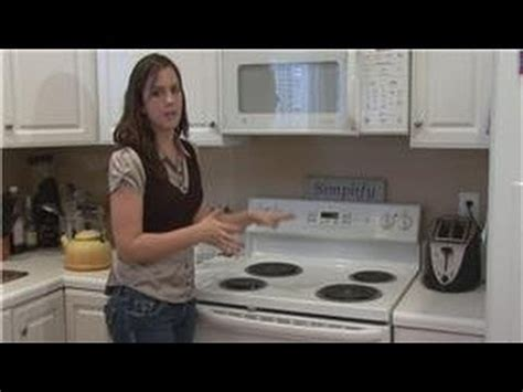 housekeeping tips   clean electric stove tops youtube