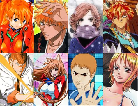 Coloring Hair Anime by Anime Hair Colors What Do They An All In One