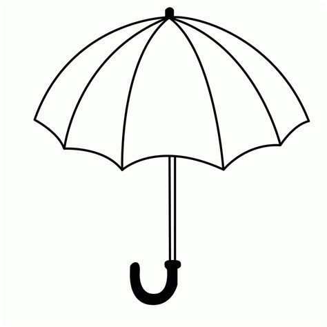 umbrella coloring pages nature coloring pages umbrella
