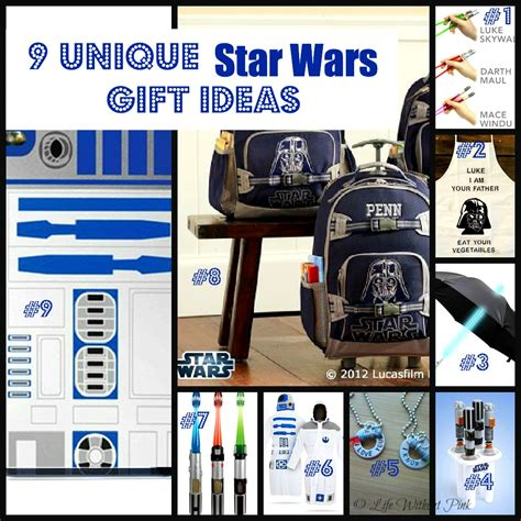 9 unique star wars gift ideas life without pink