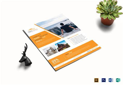 Island Brochure Template by Travel Brochure Template Archives High Professional