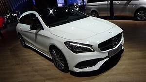 Mercedes Cla 200d : 2017 mercedes benz cla 200d shooting brake exterior and interior automobile barcelona 2017 ~ Melissatoandfro.com Idées de Décoration