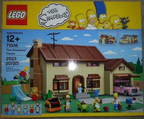 Lego 71006 The Simpsons House Will Start In