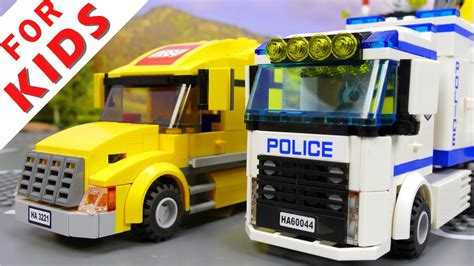 Lego City 60044 Mobile Police Unit