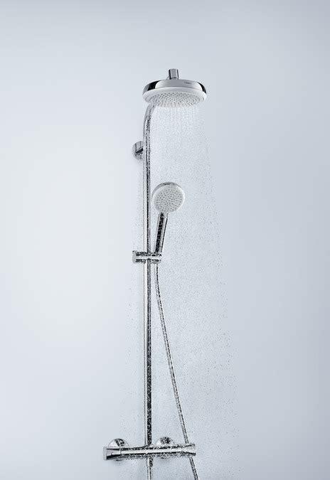 hansgrohe cuisine hansgrohe showerpipes crometta 1 type de jet 27264400