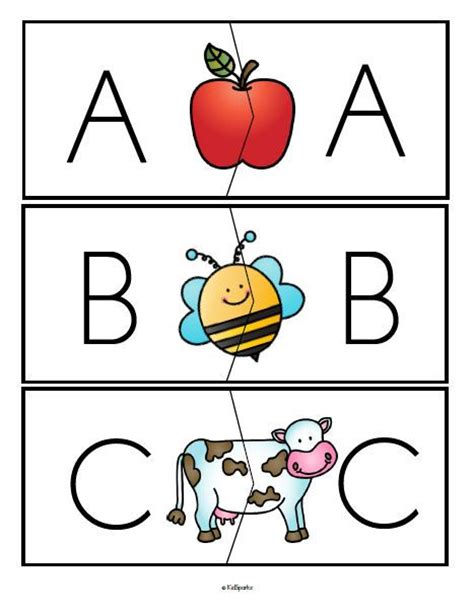 ***free*** Alphabet Upper Case With Upper Case Letters Puzzle Matchups, Full Alphabet