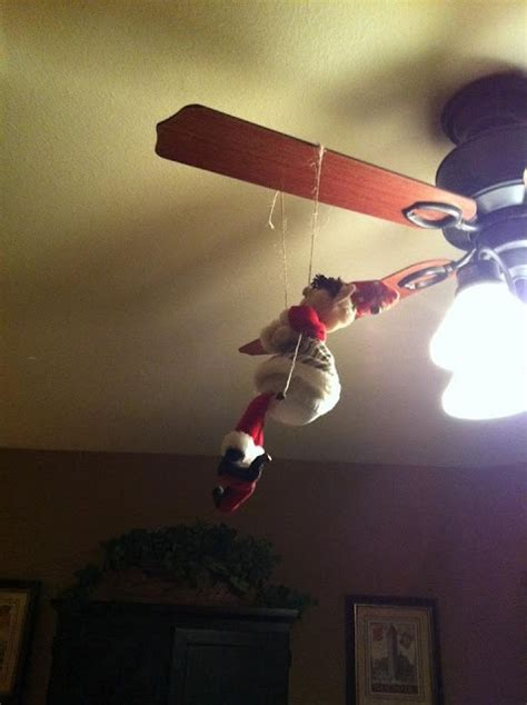 christmas ceiling fan decorating ideas 43 best ceiling fan quot dressed quot for images on diy decorations