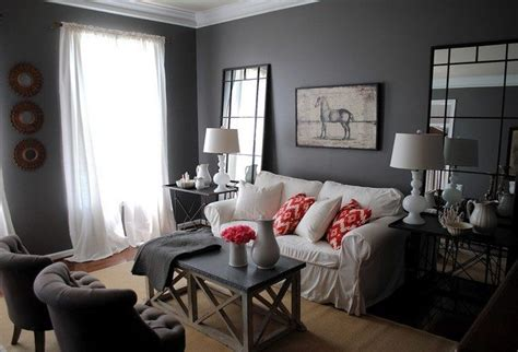ways  decorate grey living rooms decor   world