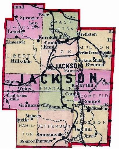 Jackson Map Ohio County Township Oh