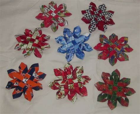 12 best photos of fabric christmas ornaments to make