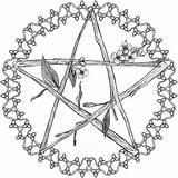 Pentagram Drawings Drawing Pagan Celtic Coloring Pentacle Wiccan Flowery Template Deviantart Sketch Mobile Vector Getdrawings Paintingvalley Editor Diy sketch template
