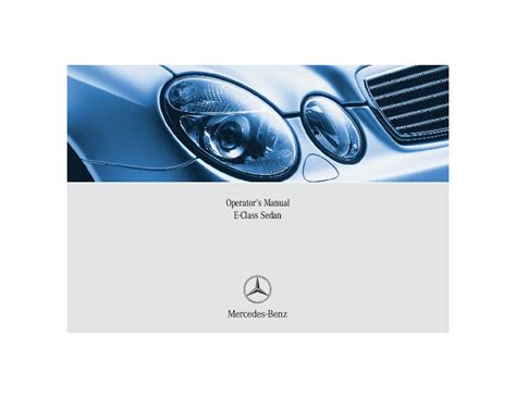 car service manuals pdf 2005 mercedes benz e class windshield wipe control 2005 mercedes benz e class operators manual e320 4matic e320 cdi e500 4matic e55 amg