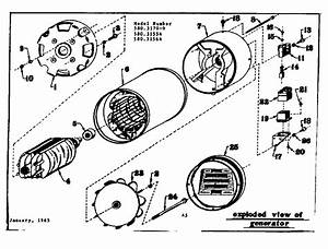 Craftsman Sears Generator Parts