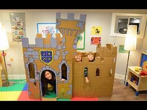 Build a Cardboard Castle Fort - DO IT YOURSELF