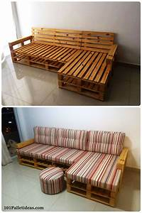 20 pallet ideas you can diy for your home pallet ideas With diy sectional sofa ideas