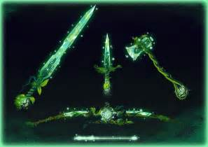 Earth Elemental Weapons