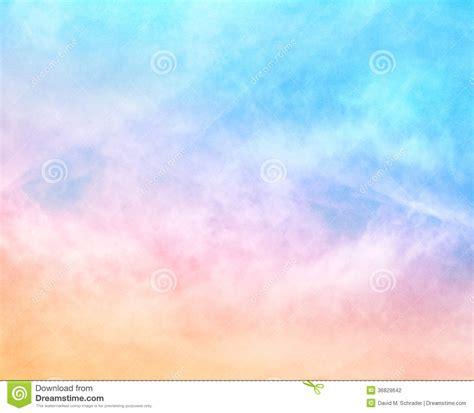nuages texturises darc en ciel photo stock image du