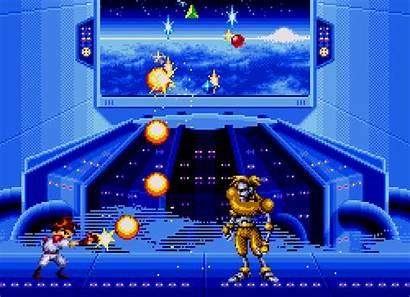 Sega Games Gunstar Mega Drive Heroes Gifs