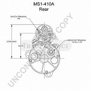 Ms1-410a Prestolite Starter Motor
