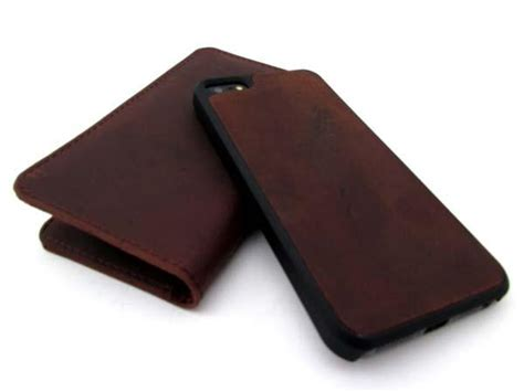 iphone 5s leather wallet the handmade leather wallet iphone 5s gadgetsin