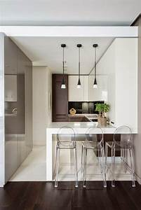 beau cuisine ouverte avec bar et chambre petite cuisine With petite cuisine ouverte avec bar