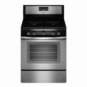 Whirlpool 30 In  5 0 Cu  Ft  Gas Range With Self