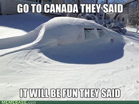 Canada Snow Meme - interview with a british expat in canada