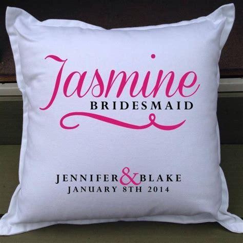 Personalised Bridal Party Cushions  Gift Keepsakes
