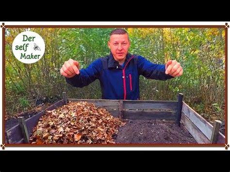 kompost selber machen kompost richtig anlegen kompost f 252 r den garten anlegen kompost selber machen