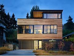 Modern House Design Ideas Bicycles Incorporated Into Active Couples House Modern House Designs